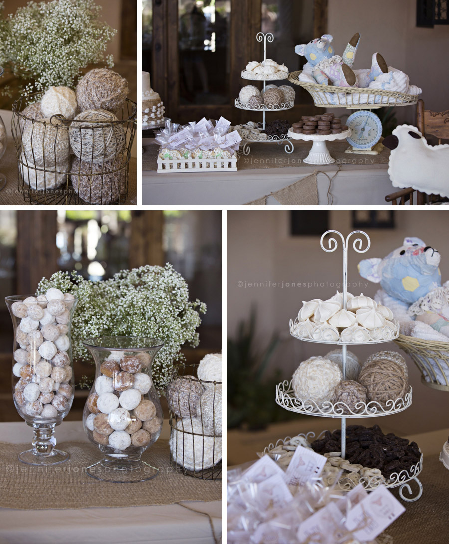 VIntage Lamb Themed Neutral Baby Shower » Jennifer Jones Photography